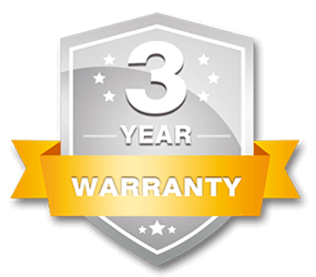 Our ranch and field Fence comes with a 3 year warranty