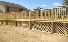 Custom Built  Piers, Patio Decks & Pergolas - Victoria, Tx.