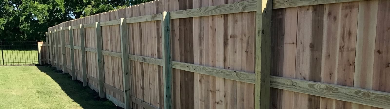 Wooden Privacy Fence company in Victoria Texas